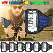 Professional Nylon Running Sport Armband for APPLE ipod touch5 case