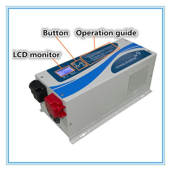 Effecient and Safe, Low Frequency Pure sine wave hybrid inverter 96v 5000 watt