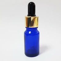 China made high quality dark blue olive oil glass bottle