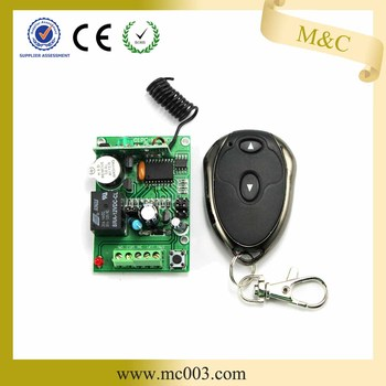 MC401 Hot-selling Wireless Rf Remote Controller On Off Switch