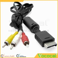 RCA AV Audio Video Cable Game Data Cable for PlayStation 2 PS2 PlayStation 3 PS3