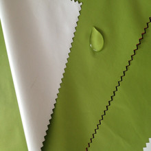 190T nylon ripstop taffeta semi dull waterproof raincoat fabric with pvc coated