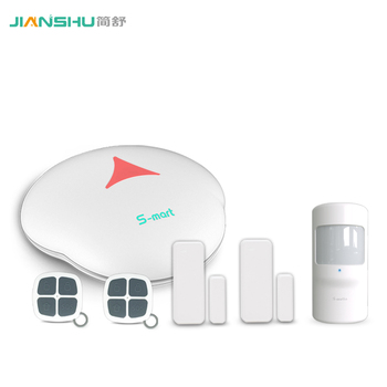 Android+IOS APP control GSM home security alarm system wireless intruder alarm kit