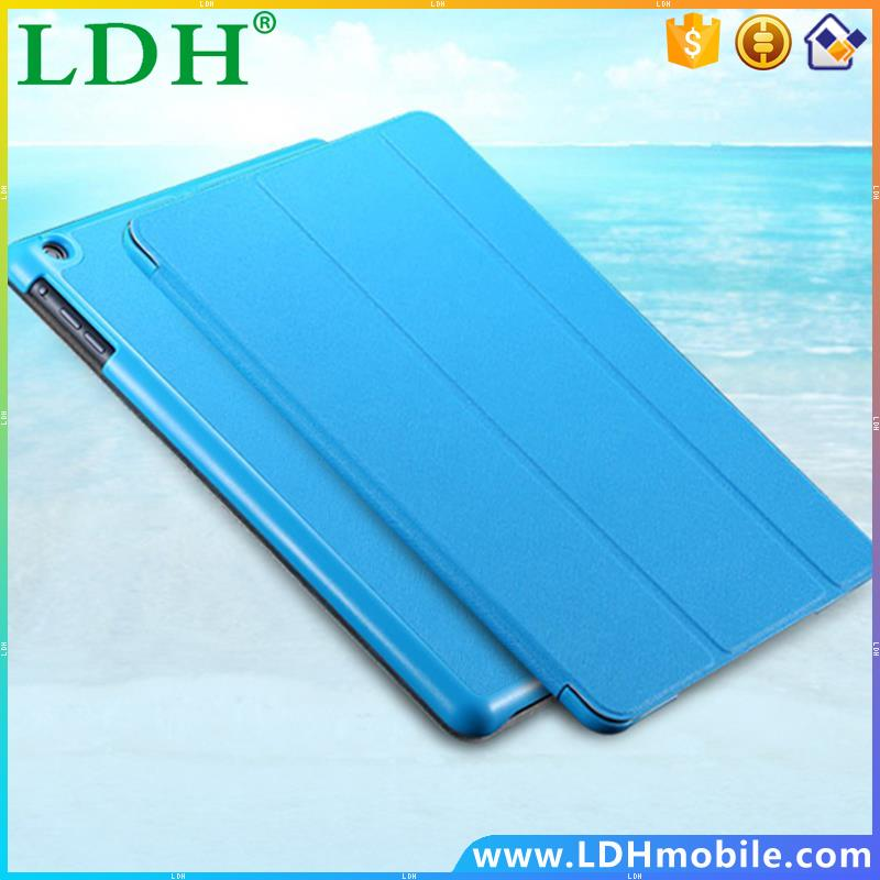Slim Thin Triple Flod Book Case For Apple iPad Air Luxury Super Stand Leather Cover Tablets Accessories For iPad 5