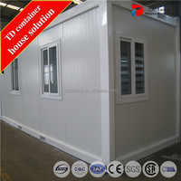 Floding mobile container home