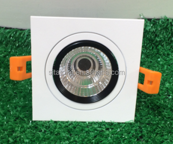 3w 5w 7w 9w 10w 15w 18w 20w 35w square led down light housing