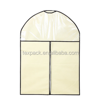 T shirt/dress garment bag carrier clothes dust cover with window