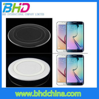Promotion gift Universal qi S6 wireless charging cell phone charger for qi wireless charger for lenovo