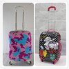 small lovely 4 wheeled kids hard shell luggage