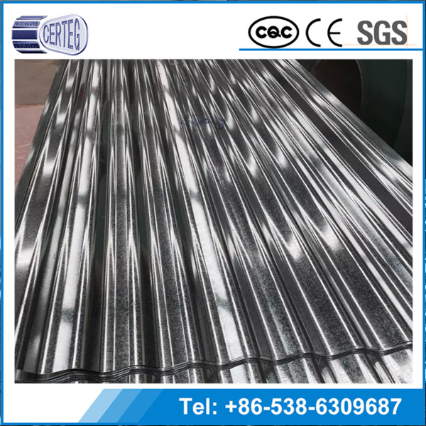 Chinese CompanySteel Plate Material and Plain Roof Tiles Type Galvanized Steel Sheet