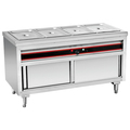 BN-B03 Restaurant Food Warmer Electric Bain Marie With Cabinet