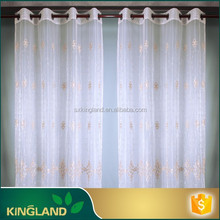 China Wholesale Cheap Fancy waterproof window curtain voile curtain