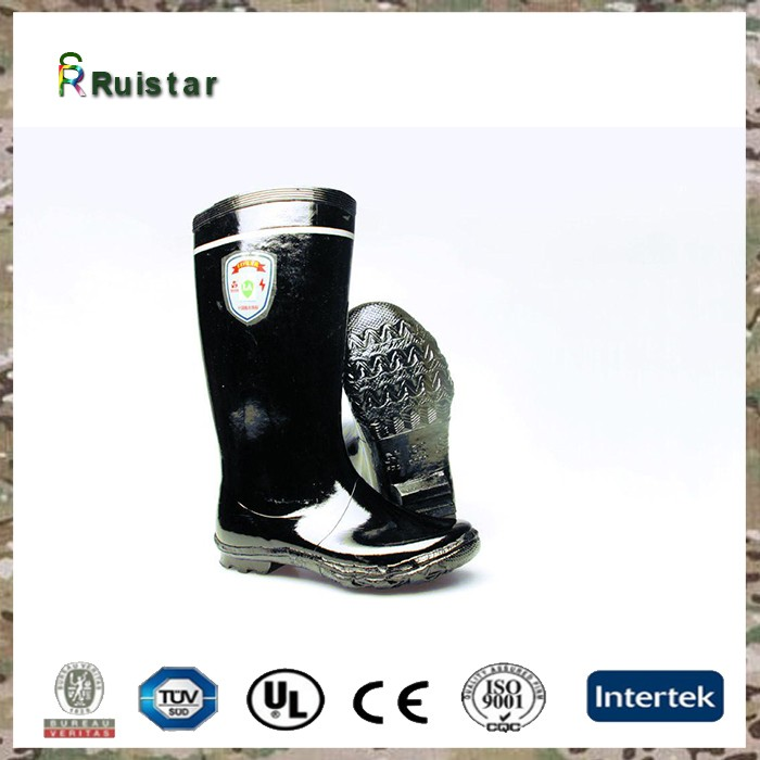 new military thigh high rubber boots safety rain boots