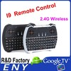 2.4 Ghz Wireless Black Keyboard I9 Air Mouse Remote Control Touchpad Of Android Tv Box