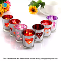 top1 yufeng laser engraving scented glass candle holders with box factory supplier yufengcraft : www.yufengcraft.cn