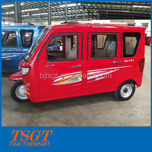 150cc/175cc/200cc/250cc motor tricycle full closed cabin with 3m long boady for 6 passengers