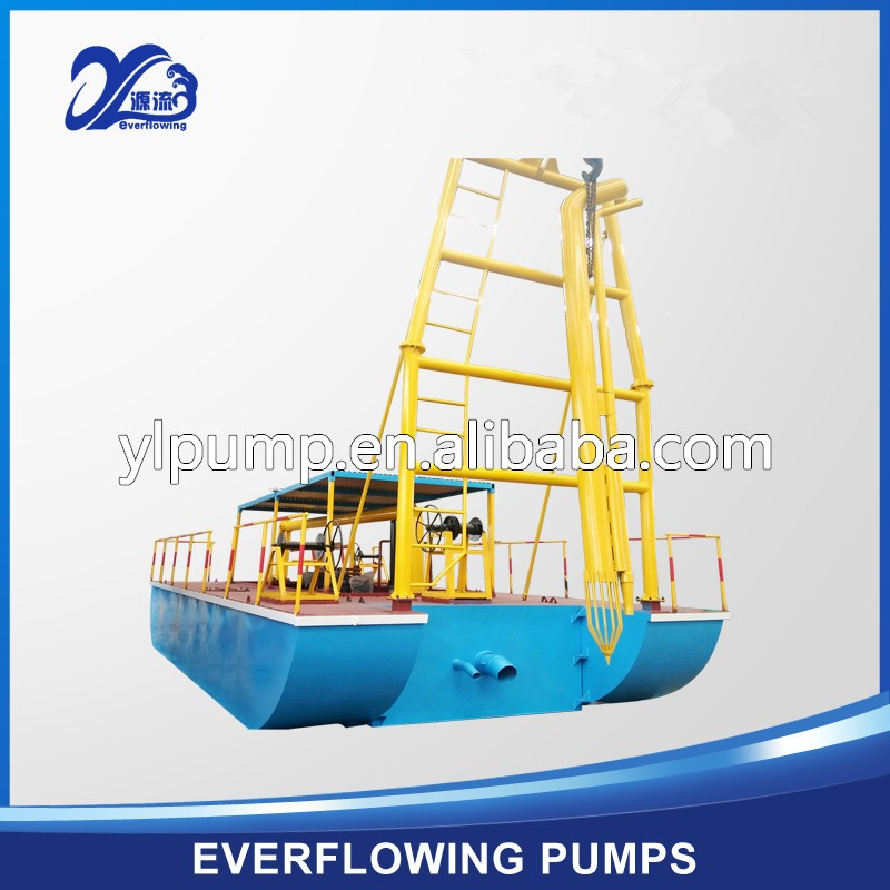 Hot sale factory price river sand pumping equipment for river sand dredging sand