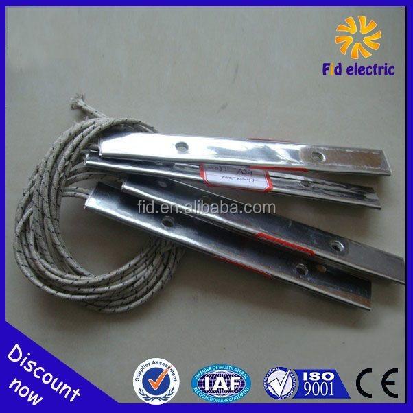 Rubber tyre extruder mica strip heater