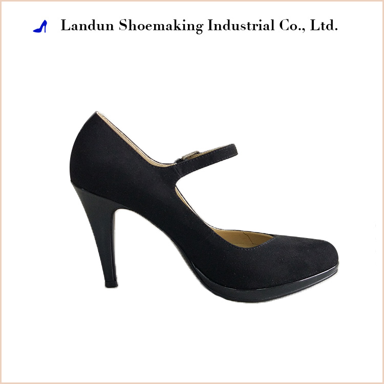 Wholesale low price women high heel leather bridal wedding shoes