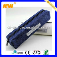 Promotional nice design jean pencil case(NV-PE023)