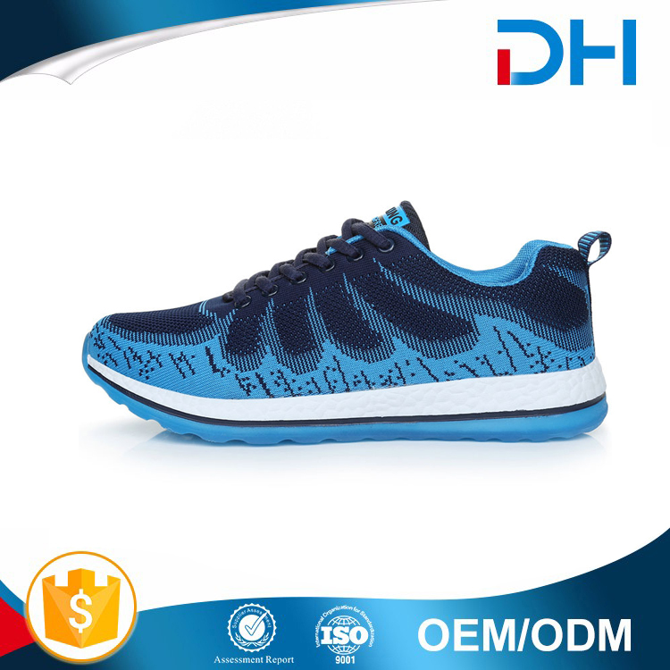 2017 New Arrival Free sample fashion leisure men sport shoe