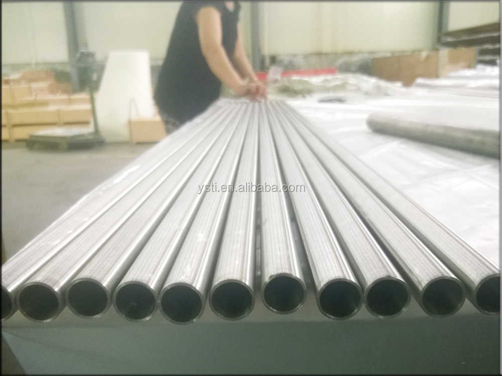 High Strength Cold Rolled Seamless Titanium Pipe / Titanium Bicycle Tube