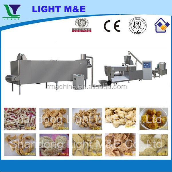 Good Price Automatic Soya Textured Vegetable Protein Machine