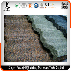 High Quality Stone Coated Roof Tiles for House/ Popular Heat Insulation Roof Materials