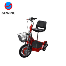 Three Wheel Comfortable Mini Electric Motor Mobility Scooters With CE Approved