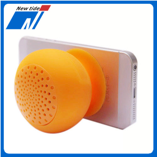 handfree speaker shower mushroom mini bluetooth speaker