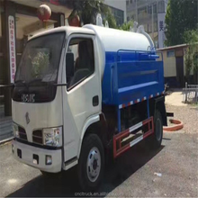 cheap and best quality mini 4000L Vacuum Cleaning Sewage Suction Truck