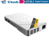 2016 New Arrival Mini Projector Pico Projector Lumens 1080P Support Home Theater Projector