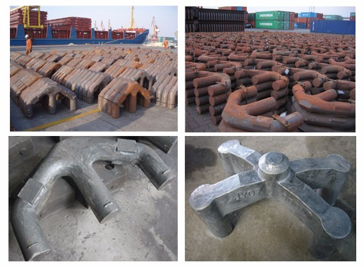 High Quality OEM Casting Anode Rod Yokes for Smelters