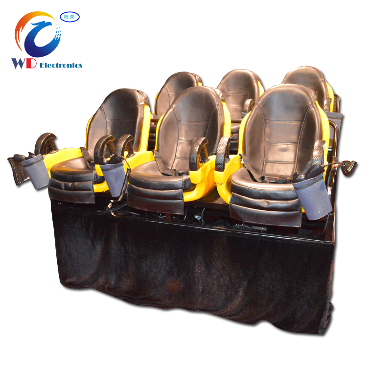 Wangdong Amusement Park Ride Hydraulic System 7D Cinema Playing Tunnels