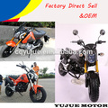 SUPER gas motorcycle for kids/mini moto enine for 125cc/135cc