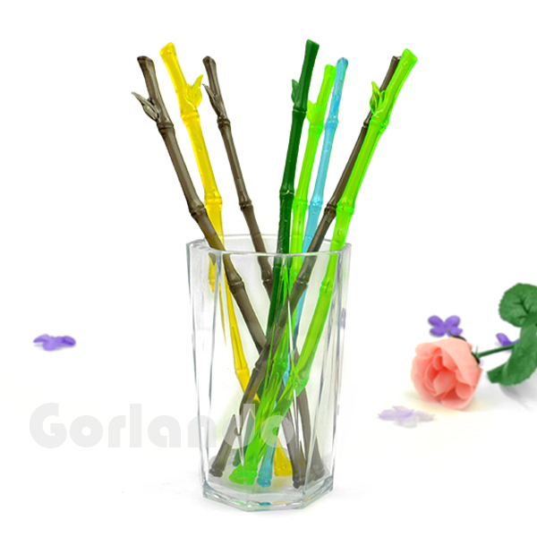 wholesale plastic bamboo design cocktail drinking swizzle stick