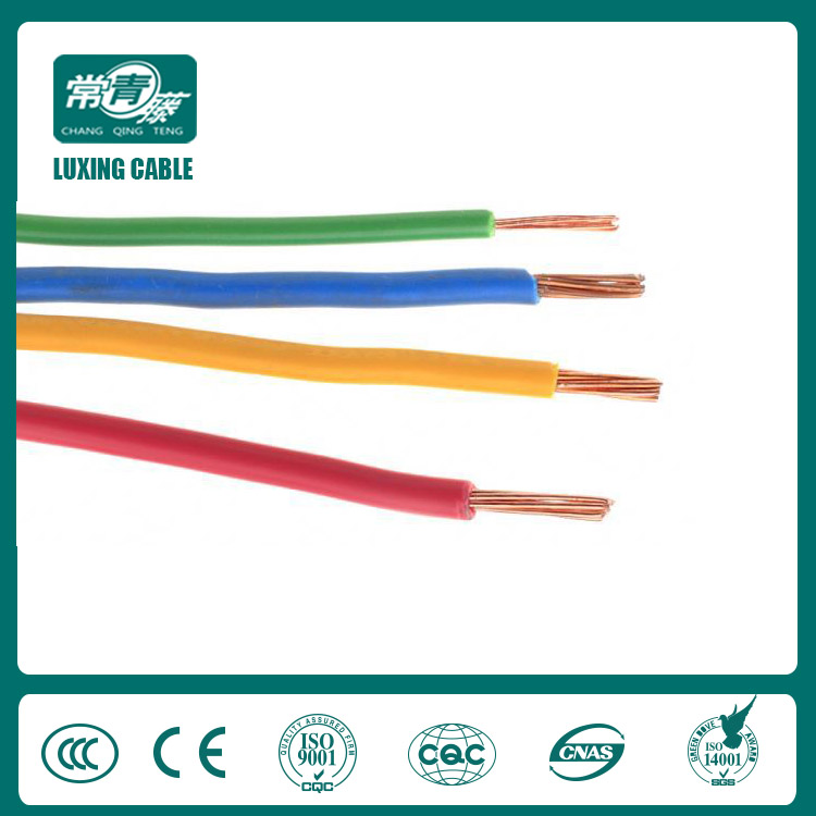 PVC Insulated Non sheathed Single Core Cables