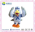 Cute Plush Flying Bird in Sailor Suit Toy for Children
