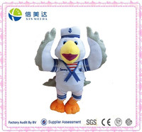 Unique Cute Plush Flying Bird in Sailor Suit Toy for Boy Children