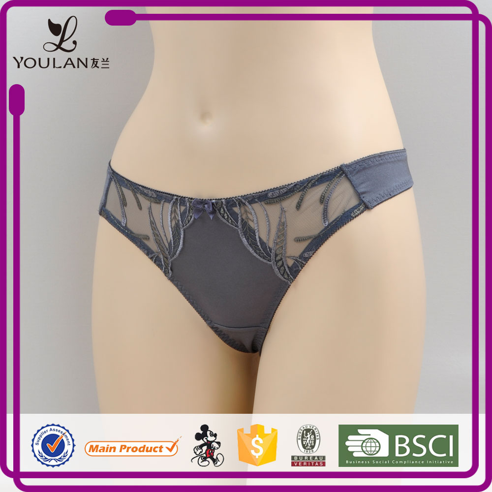 New Style Comfortable Young Lady Sexy string design lingerie