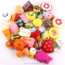 Cheap Cost Stress Relief Toy for Collection Gift Squishies Random pack Scented Jumbo Slow Rising KawaiI Squishy Bun Bread