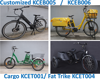 2019 Philippines like cheapest price electric tricycle with wagon cargo basket rear carrier electric trike with basket KCET001