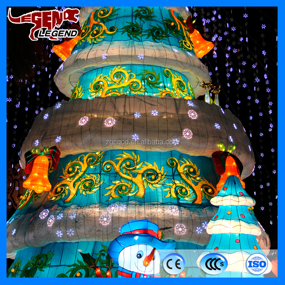 Newly designed outdoor giant led christmas tree attractive christmas decoration