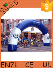 hot sale Tarpaulin amazing and advertising inflatable arch gate