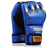 The High quality PU leather MMA punching gloves/boxing gloves/Fighting Gloves