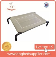 Waterproof Large Size elevated camping cot metal Raised Dog Bed for large dog