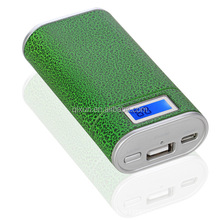 LED display colorful portable power bank for samsung galaxy note,power bank 5600mah