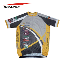 Fully customisable sublimation cycle tops / cycling kits