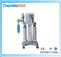 Dental anesthesia machine running with anesthesia ventilator