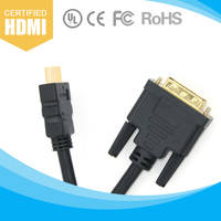 6FT DVI to HDMI Cable For HD 1080P PC LCD Computer Cable Cord